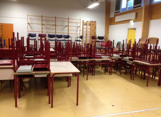 Schoolmeubilair De ark naar Moldavië