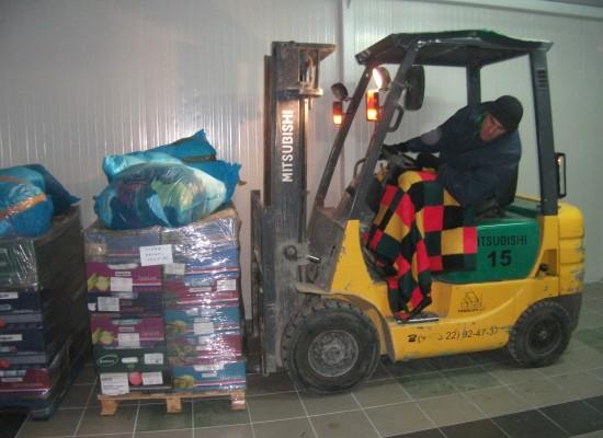 Transport onderweg naar Moldavië