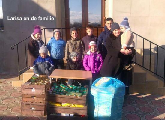 Dankbetuigingen uit Causeni Moldavie, voedselactie 2016 (nl)