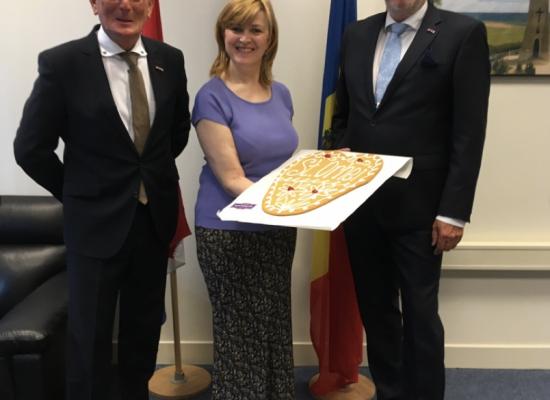 Stichting Orhei uitgenodigd Ambassadeur Moldavië