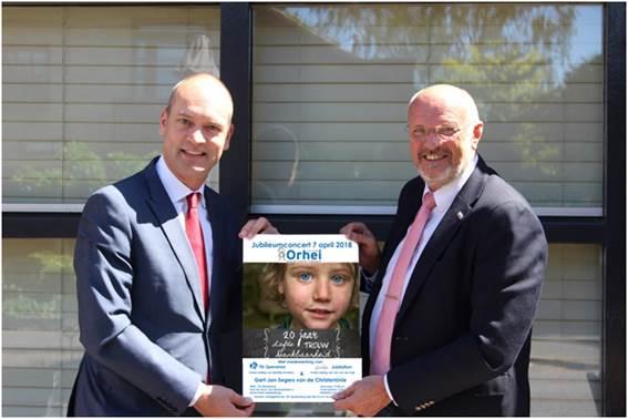 "Jubileumconcert ""Stichting Orhei 20 jaar"" 7 april 2018"