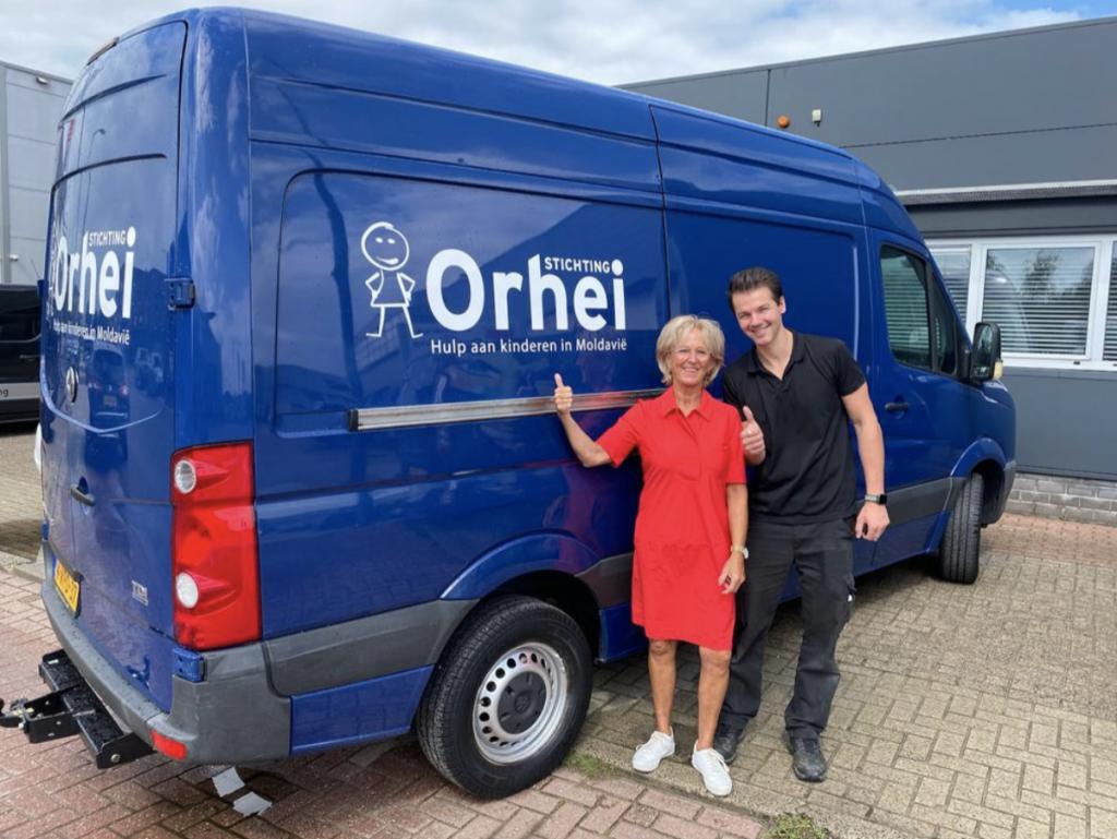 Andere bus voor Stichting Orhei